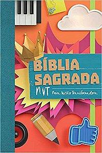 Bíblia Sagrada NVT - Colagem