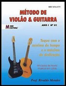MÉTODO DE VIOLÃO E GUITARRA VOL.I