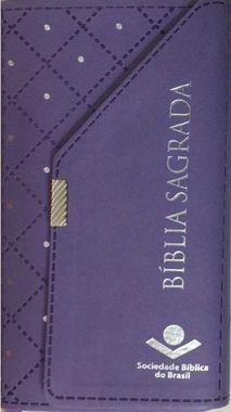 Bíblia Sagrada ICM - Carteira Revista e Corrigida - Lilás