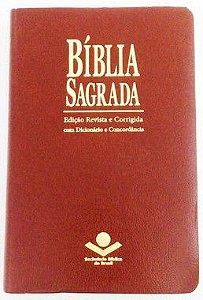 BÍBLIA ICM COM ESPAÇO PARA ANOTAÇÕES - - MARROM