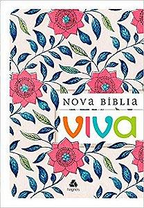 BÍBLIA VIVA - BROCHURA - FLORAL