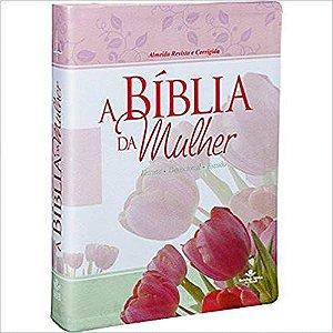 BÍBLIA DA MULHER GRANDE - CAPA TULIPA