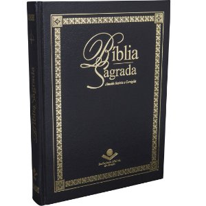 BÍBLIA DE PÚLPITO - CAPA DURA - PRETA