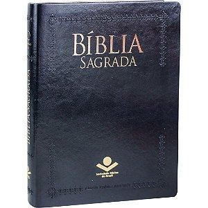 Bíblia de Púlpito - Capa Flexível - Preta