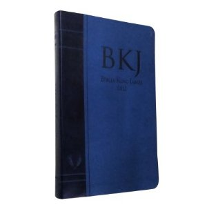 BÍBLIA BKJ FIEL 1611 ULTRA FINA - AZUL