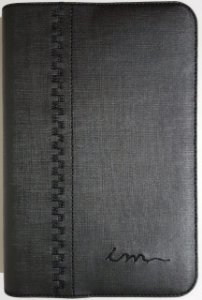 Capa de Bíblia ICM - Cinza ESCURO