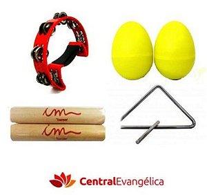 Kit Musical Infantil Econômico - Bandinha
