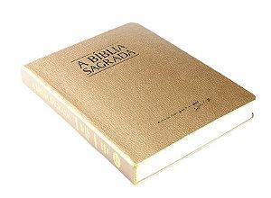 Bíblia ACF Letra Média Fina - Semi Luxo Dourada