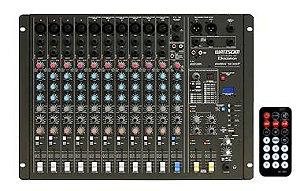 Mesas de Som (audiomixers) - 8 a 16 Canais - Ciclotron
