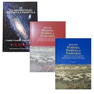 KIT: Livros Fé - Sua Manifestação Histórica e Profética, e Resumo Histórico, Profético e Doutrinário - Vol. I e Vol. II.