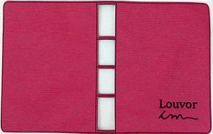 Capa para Coletânea ICM (não cifrada) - Rosa Pink