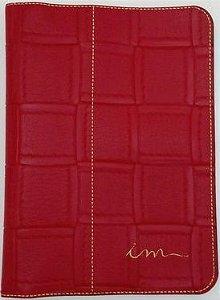 Capa de Bíblia ICM - Vermelha