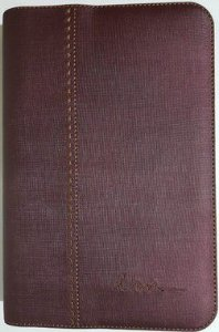 Capa de Bíblia ICM - Vinho