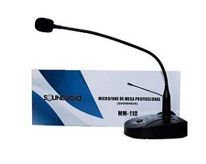 MICROFONE DE MESA SOUNDVOICE - MM110