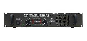 Amplificador De Potência 825W W Power II 3300 AB - Ciclotron