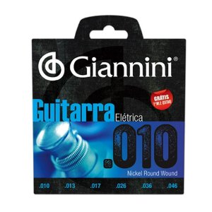 Encordoamento Para Guitarra GEEGST10 0.10 GIANNINI