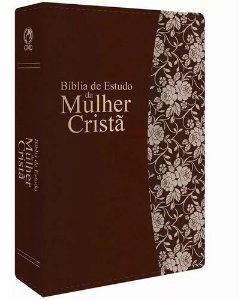 Bíblia De Estudo Da Mulher Cristã Grande Marrom - CPAD