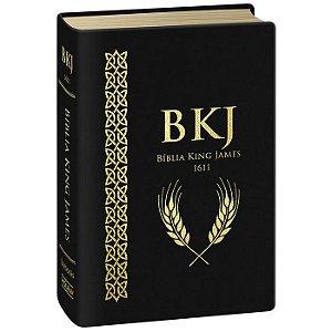 BÍBLIA BKJ 1611 ULTRAGIGANTE SUPER LUXO - PRETA