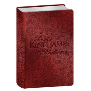 BÍBLIA KING JAMES PARA MULHERES - VERMELHO
