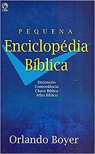 Pequena Enciclopédia Bíblica (Português) Capa Dura,