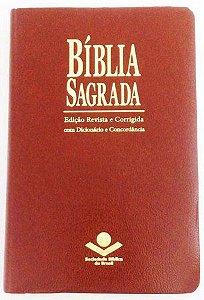 BÍBLIA COM ESPAÇO PARA ANOTAÇÕES - MARROM