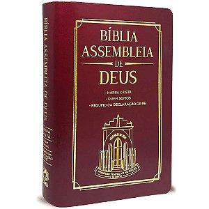 Bíblia Assembleia de Deus - Vinho