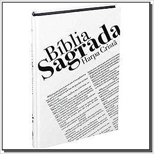 Bíblia Sagrada Texto - com Harpa Cristã