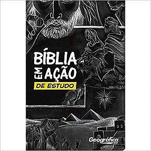Bíblia Em Ação De Estudo capa Preta