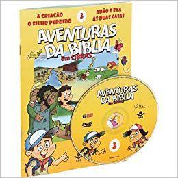 Aventuras da Bíblia em Libras com DVD - Vol. 3