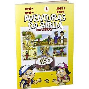 Série DVD – Aventuras da Bíblia em Libras Vol. 4