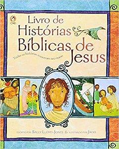 Livro de Histórias Bíblicas de Jesus.