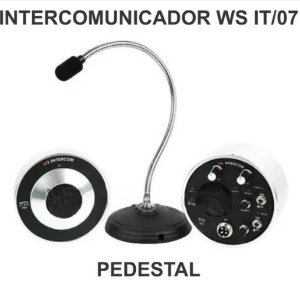 Intercomunicador Para Vidro WS IT/07