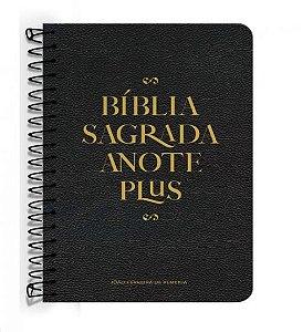 242 BIBLIA RC ANOTE PLUS ESPIRAL PRETA
