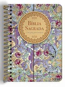 217 - BIB. NVI ANOTE ESPIRAL CALAMO E CANELA