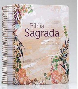 242 - BIB. RC ANOTE PLUS ESPIRAL FLOR MARMORIZADA
