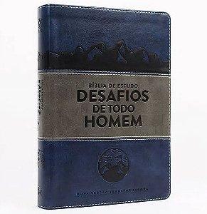 BIBLIA ESTUDO DESAFIOS DE TODO HOMEM