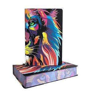 Bíblia Sagrada NVT Letra Grande Capa Dura Lion Color Capa Colorida leão