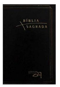 Bíblia Almeida Século 21 luxo - preta c/ referências cruzadas