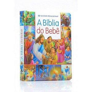A Bíblia do Bebê  Capa Almofadada