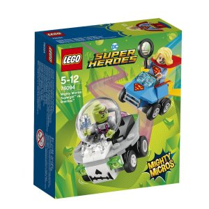 MIGHTY MICROS: SUPERGIRL VS. BRAINIAC 76094 - LEGO
