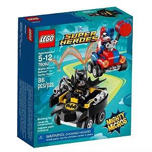 MIGHTY MICROS: BATMAN VS. ARLEQUINA - LEGO 76092