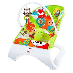 Cadeirinha Bebê Descanso Vibratória Amigos Do Bosque Fisher Price