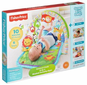 FISHER-PRICE GINASIO AM FLORESTA 3 E 1