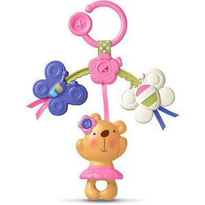 Mobile Mini Ursinho Rosa Fisher Price