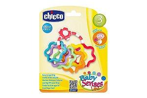 Chocalho Anéis Chicco Colorido