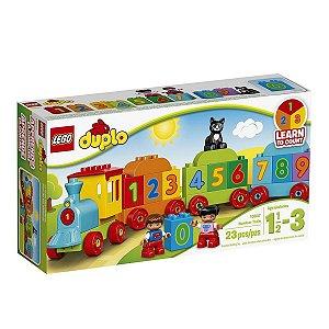 O Trenzinho dos Numeros - LEGO 10847