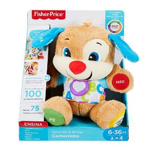 Fisher Price APRENDER E BRINCAR SMART STAGES CACHORRINHO - FVC80 - MATTEL