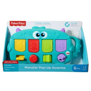 FISHER-PRICE MONSTRO SURPRESA UNIDADE DYM89 - MATTEL