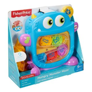 Fisher Price MONSTRO LABIRINTO DIVERTIDO 2018 - Azul