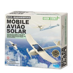 Móbile Avião Solar Green Science - 4m